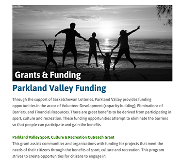SKFN-Parkland-Valley-Funding